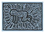 KH18 Reproduction d'art par Keith Haring
