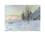 Lavacourt  under Snow  ca 1878-1881