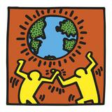 KH02 Reproduction d'art par Keith Haring