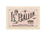 Le Ballon  ca 1883