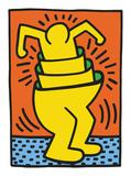 KH06 Reproduction d'art par Keith Haring
