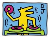 KH07 Reproduction d'art par Keith Haring