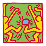 KH14 Reproduction d'art par Keith Haring