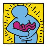 KH10 Reproduction d'art par Keith Haring