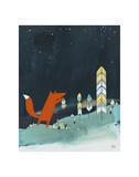 Mr. Fox is Inspired Reproduction d'art par Kristiana Pärn