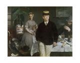 Luncheon in the Studio  1868