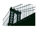 Manhattan Bridge Silhouette