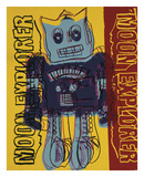 Moon Explorer Robot  1983 (blue & yellow)