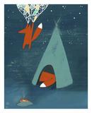 Mr. Fox's Brilliant New Ideas Reproduction d'art par Kristiana Pärn