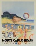 Monte Carlo Beach  1931