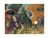 Memory of the Garden at Etten (Ladies of Arles)  1888