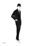 Male Fashion Figure  c 1960