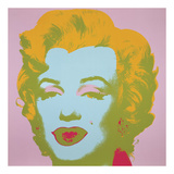 Marilyn Monroe (Marilyn), 1967 (pale pink) Reproduction d'art par Andy Warhol