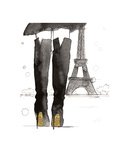 Meet me in Paris Reproduction d'art par Jessica Durrant