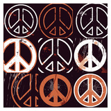 Peace Mantra (orange)