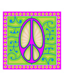 Peace sign (purple)
