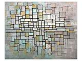 Composition No. II Reproduction d'art par Piet Mondrian