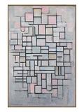 Composition No. IV Reproduction d'art par Piet Mondrian