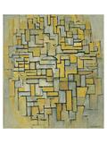 Composition in Brown Giclée premium par Piet Mondrian