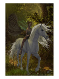 Fairy Riding Unicorn