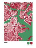 Boston Street Map