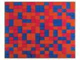 Composition with Grid Reproduction d'art par Piet Mondrian