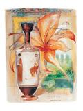 Greek Vase & Firelily