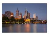 Melbourne Southbank Panorama