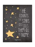 He Counts the Stars Reproduction d'art par Jo Moulton