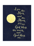 God Bless the Moon Simple