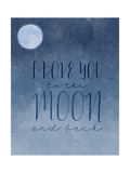 I Love You to the Moons
