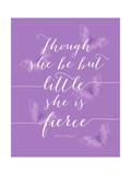She Be But Little Purple