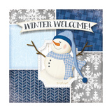 Winter Welcome - Snowman