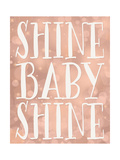 Shine Baby Shine Coral Bokeh Reproduction d'art par Tara Moss