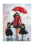 Rain Girls Red Clean