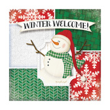 Winter Welcome Snowman