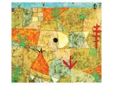 Southern Gardens Reproduction d'art par Paul Klee
