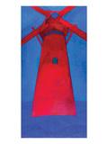 the Red Mill 1911 Giclée premium par Piet Mondrian