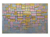 Tableau No. 2 Giclée premium par Piet Mondrian