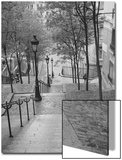 Montmartre Steps 2 - Paris  France