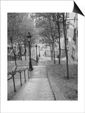 Montmartre Steps 2 - Paris  France