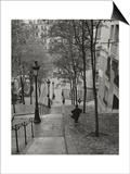 Montmartre Steps 3 - Paris  France