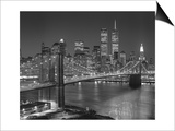 Top View Brooklyn Bridge - New York City Icons