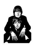 Lennon and McCartney Giclée par Emily Gray