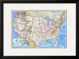 1993 United States Map