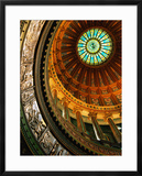 Interior of Rotunda of State Capitol Building  Springfield  United States of America