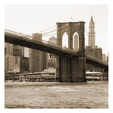 Brooklyn Bridge Sepia