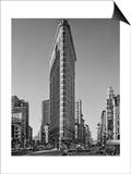 Flat Iron Building Morning - New York City Landmarks