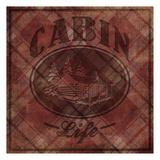 Cabin Life Reproduction d'art par Jace Grey