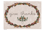 Harvest Wreath GiveThanks